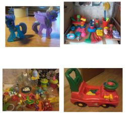 toys in the range from 300 to 500 rubles