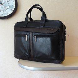 Кожаная сумка. Новая