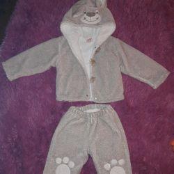 Παιδικό ζεστό κοστούμι