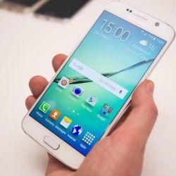 New Samsung Galaxy S 6, white