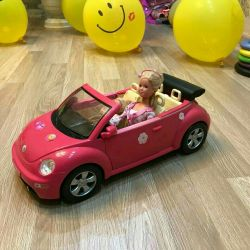 Car-cabriolet for girls