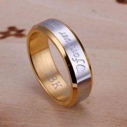 Ring pentru totdeauna dragoste 18k noi de toate dimensiunile