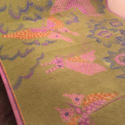 Carpet semi-lână 2/3 m.