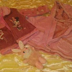 Jackets for the girl + a toy as a gift