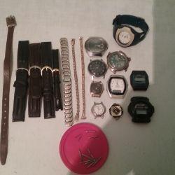 Годинники на запчастини, браслети, ремінці