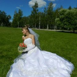 Wedding dress for rent or for sale
