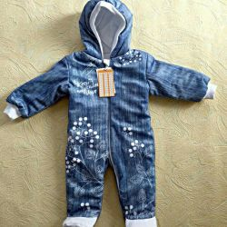 Overalls for the newborn