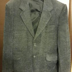 Jacket male gray