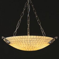 Chandelier ONYX (natural stone)