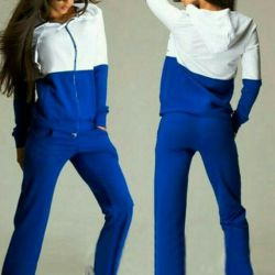 Warm blue suit. New. p.40-42