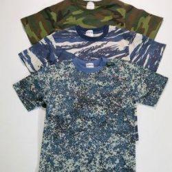 T-shirt children's camouflage, hb, Russia, 221KM
