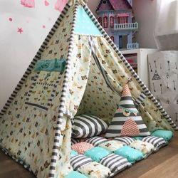 Oyuncak bebek evleri, Kızılderili çadırları