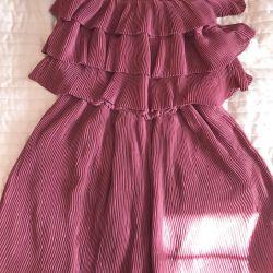 Ροζ άγρια φόρεμα