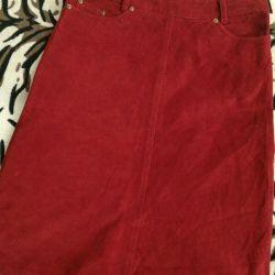 Velvet skirt rr 44-46