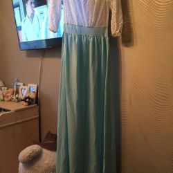 New dress at the prom
