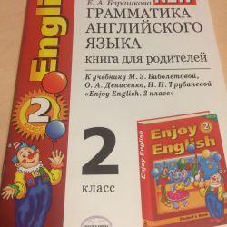 Book for parents Grammar language grade 2