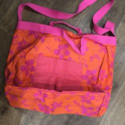 Large roxy beach bag