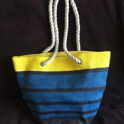 Καλοκαιρινή τσάντα παραλία NEW