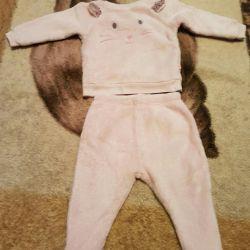 Фірмовий теплий костюм