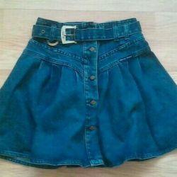 Jeans skirt. P 146