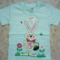 T-shirts are new. Sizes: 1, 2, 3 years