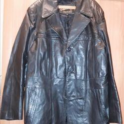 Куртка кожа мужская 46-48р