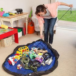 Bag mat for toys 2 in 1