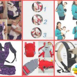 Удобные слинго рюкзаки для малышей в ассортименте