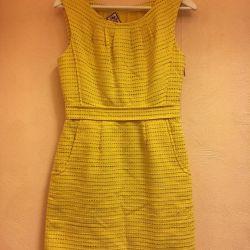 Dress bright yellow 👗