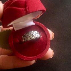 Silver Ring 925 probe
