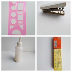Silicate glue, paints ...
