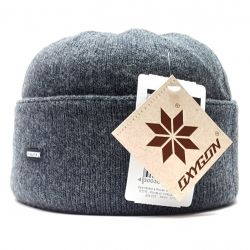 Pălărie pentru bărbați Clapă din lână (gri) oxigen