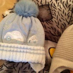 Bir çocuk için kış şapka