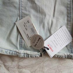 Dress, thin jeans