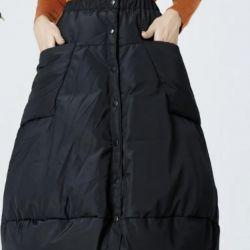 Skirt for down