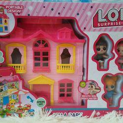 Big house for dolls Lol