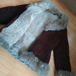 Дубленка шуба парка куртка зимняя