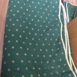 A warm, warm blanket. 250 by 185 cm