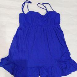 Bluz, 40-42-44 beden turuncu ve mavi