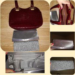 Clutches, handbag