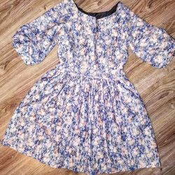 Dress in a small flower