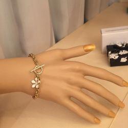 Bracelet female gilded Avon