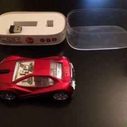 Mouse cu iluminare din spate - mașină 🚗