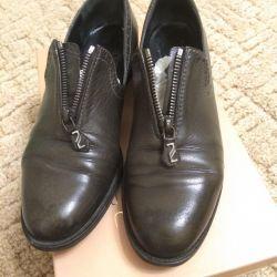 Παπούτσια Loafers γνήσιο δέρμα, 38 μεγέθη.