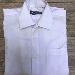 Gömlek öğrenci kısa kollu yüksekliği 134
