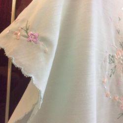 Блузка женская на пуговицах с вышивкой (50раз)
