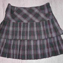 School skirt-tartan