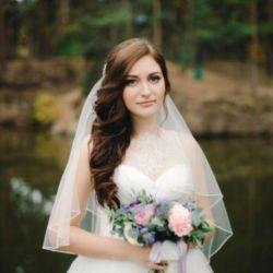 Wedding, evening hairstyles, makeup