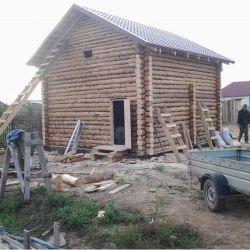 Ban log houses