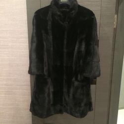 Mink coat transverse